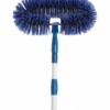 Deluxe Fan Brush With Extension Handle