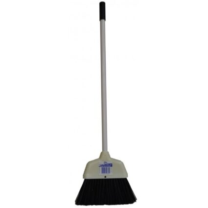 edco-heavy-duty-lobby-pan-broom-with-handle-