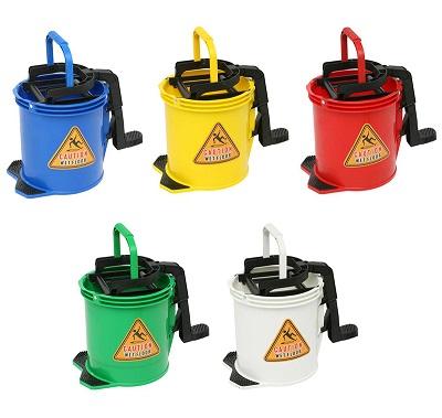 Edco 16 litre metal wringer bucket