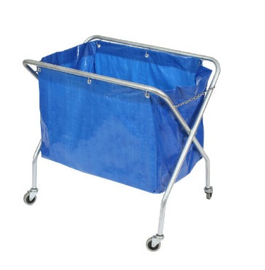 Edco Metal Frame Scissor Trolley with Bag