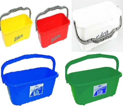 edco all-purpose mop and squeegee bucket 11lt