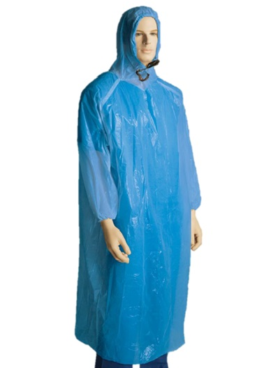 polyethylene-poncho