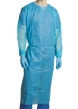 POLYPROPYLENE  CLINICAL  GOWN CARTON/100