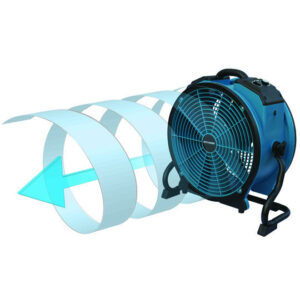 XPOWER 225 WATT TURBO-PRO AXIAL AIR MOVER