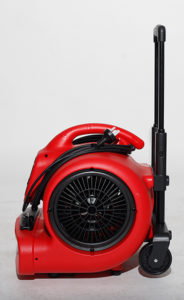 X 600HC RED handle up  34538.1412293241.1280.1280 184x300 - XPOWER 520 WATT PROFESSIONAL AIR MOVER WITH WHEELS AND LUGGAGE HANDLE