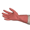 SILVERLINED  RUBBER  GLOVES  –  PINK