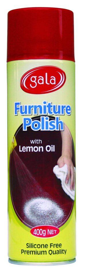 Gala Furniture Polish – Lemon 400g