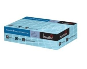 NITRILE  SOFT  BLUE  –  300MM  LONG  CUFF  –  POWDER  FREE  –  FINGER  MICRO  TEXTURED