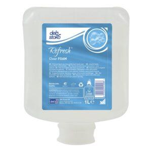 Deb® Clear FOAM WASH PERFUME FREE & DYE FREE GENTLE HAND WASH
