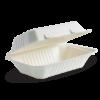 9x6x3″ White BioCane Clamshel