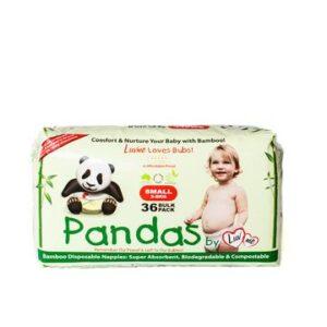Newborn 3-8kg Bamboo Nappies 36pk