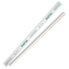 6mm Individually Wrapped White Regular Straw