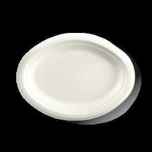 """10.25×7.75"""" Oval BioCane Plate"""