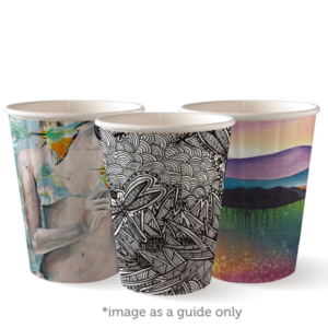 12oz (90mm) Art Series Double Wall BioCup