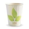 12oz (90mm) Leaf Double Wall BioCup