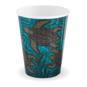 12oz (90mm) Indigenous Art Double Wall BioCup