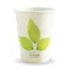 12oz (90mm) Leaf Single Wall BioCup