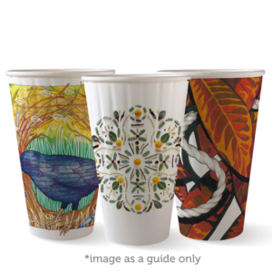 16oz (90mm) Art Series Double WallBioCup