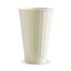 16oz (90mm) White Double Wall BioCup