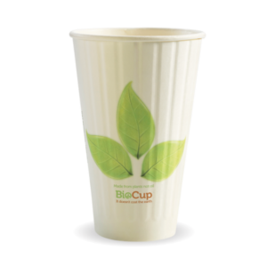 16oz (90mm) Leaf Double Wall BioCup