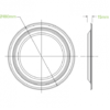 18cm White BioPlates3