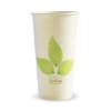 20oz (90mm) Leaf Single Wall BioCup