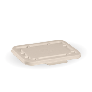 500 & 600ml Natural BioCane Takeaway Base Lid