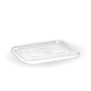 500 & 600ml Clear PET Takeaway Base Lid