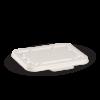 500 & 600ml White BioCane Takeaway Base Lid