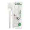 16.5cm / 6.5″ PLA Knife, Fork, Napkin, Salt & Pepper Set