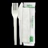 16.5cm / 6.5″ PLA Knife, Fork & Napkin Set