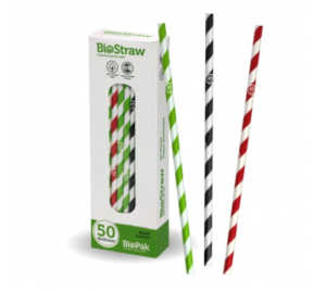 6mm Mixed Regular Straws