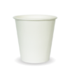6oz (80mm) White Single Wall BioCup