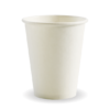 8oz (80mm) White Single Wall BioCup