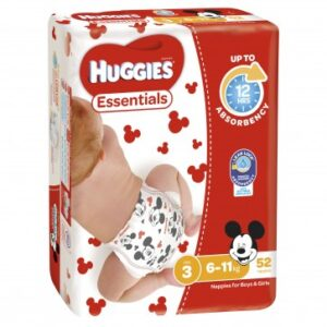 Huggies Essentials Crawler QTY  208′ CARTOON