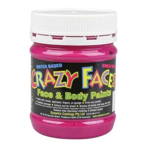 Pink Crazy Face Paint 250mls