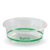 600ml Clear Wide BioBowl