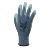 Grey Nylon Glove Polyurethane Coating