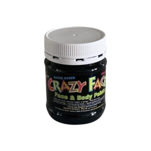 Black Crazy Face Paint 250mls