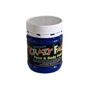 Blue Crazy Face Paint 250mls