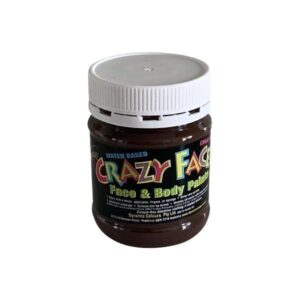 Dynamic Colours Crazy Face Paint Brown 250mls 300x300 - Brown Crazy Face Paint 250mls