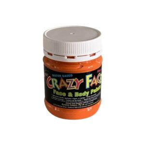 Orange Crazy Face Paint 250mls