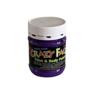Dynamic Colours Crazy Face Paint Purple 250mls 300x300 - Purple Crazy Face Paint 250mls