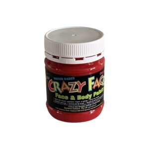 Dynamic Colours Crazy Face Paint Red 250mls Compressed 300x300 - Red Crazy Face Paint 250mls