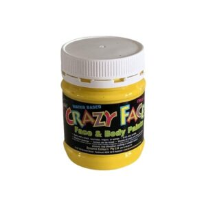 Yellow Crazy Face Paint 250mls