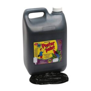 Dynamic Colours Poster Paint Black 5 Litres 300x300 - Black Poster Paint 5 Litres