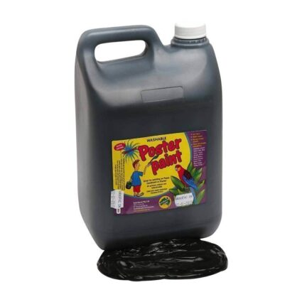 Dynamic-Colours-Poster-Paint-Black-5-Litres