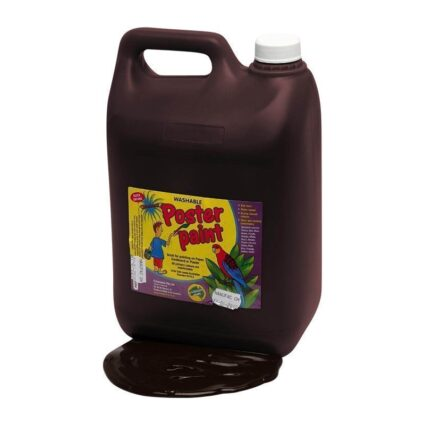 Dynamic-Colours-Poster-Paint-Brown-5-Litres