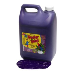 Dynamic Colours Poster Paint Purple 5 Litres 2 300x300 - Purple Poster Paint 5 Litres