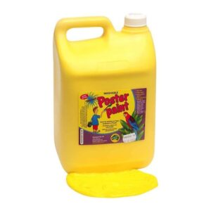 Yellow Poster Paint 5 Litres